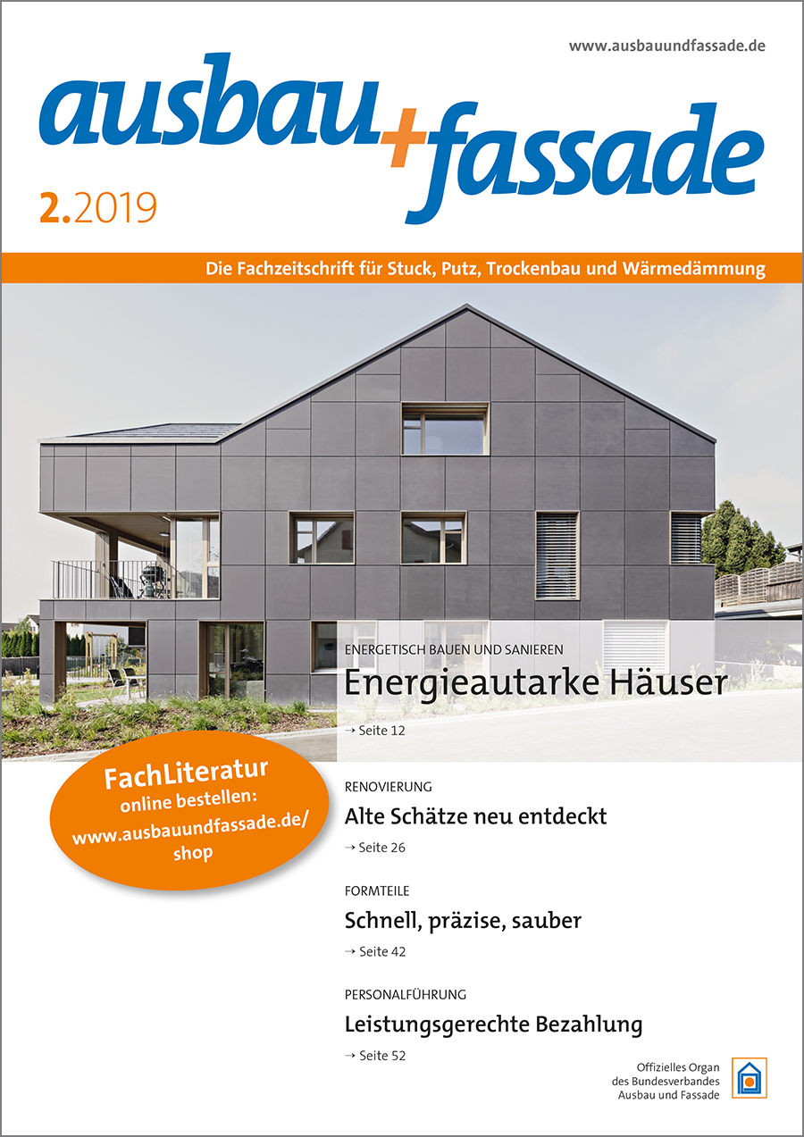 Titel_02_2019_mau_exp_oP Ausbau und Fassade - Beam it up, Stucki!