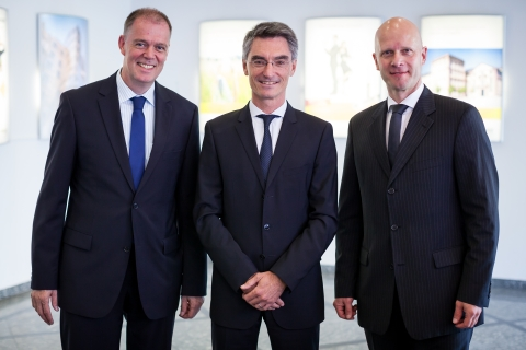 Von links: Andreas Müller, Michael Wiessner und Christopher Brennecke. Foto: Isover